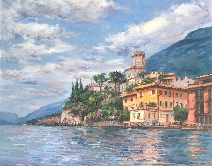 lake-garda-monet-style-impressionist-oil-painting