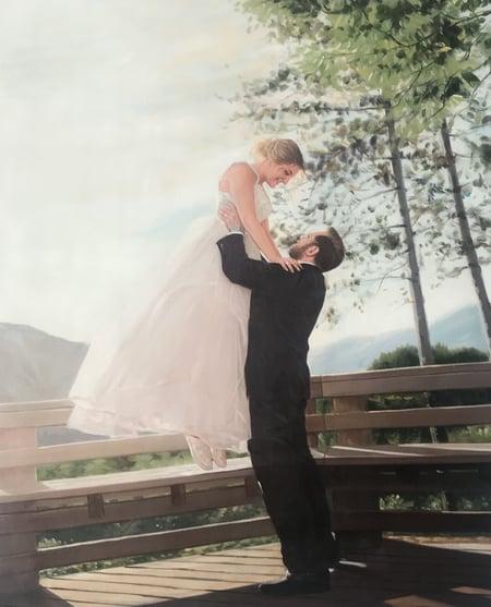 Steve & Leanna's Final Painting