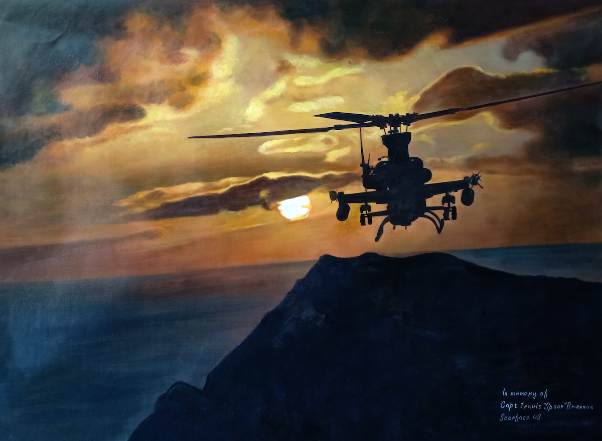 1290 final painting-military-helicopter-in-memory-of