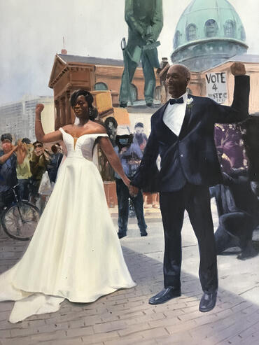 BLM-wedding-oil-painrting-2020