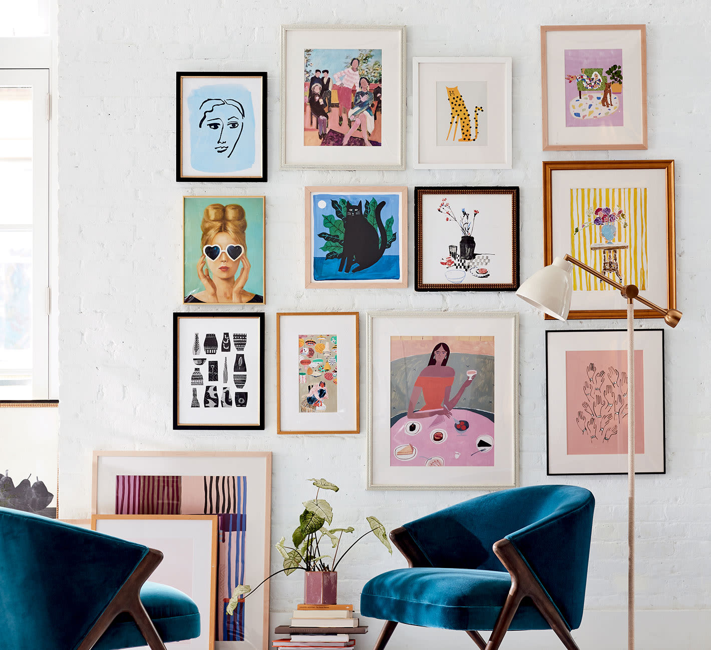 2021-interior-design-trends-gallery-wall-art