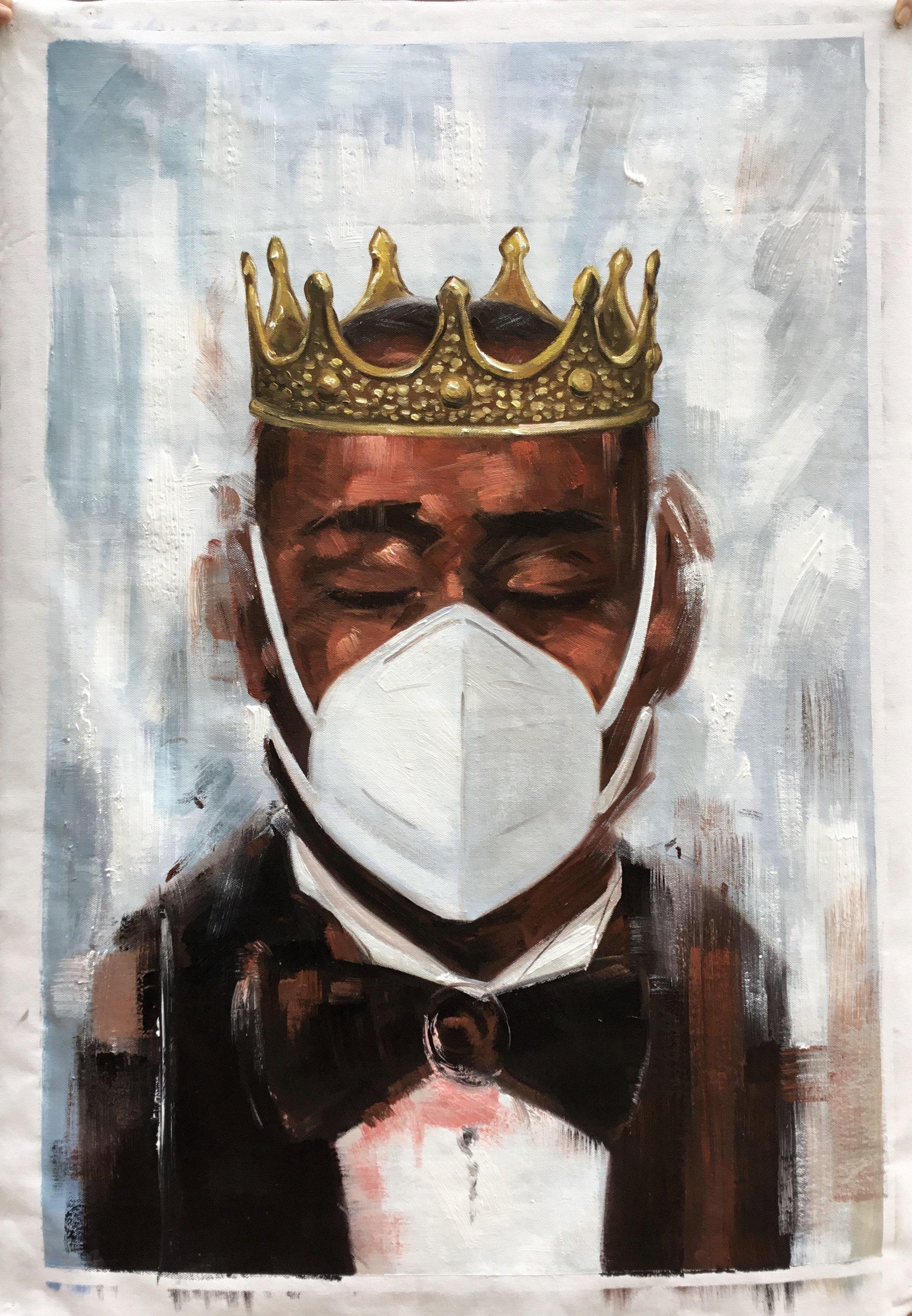 ahmaud-arbery-2021-art-trend-2020-monument-oil-painting