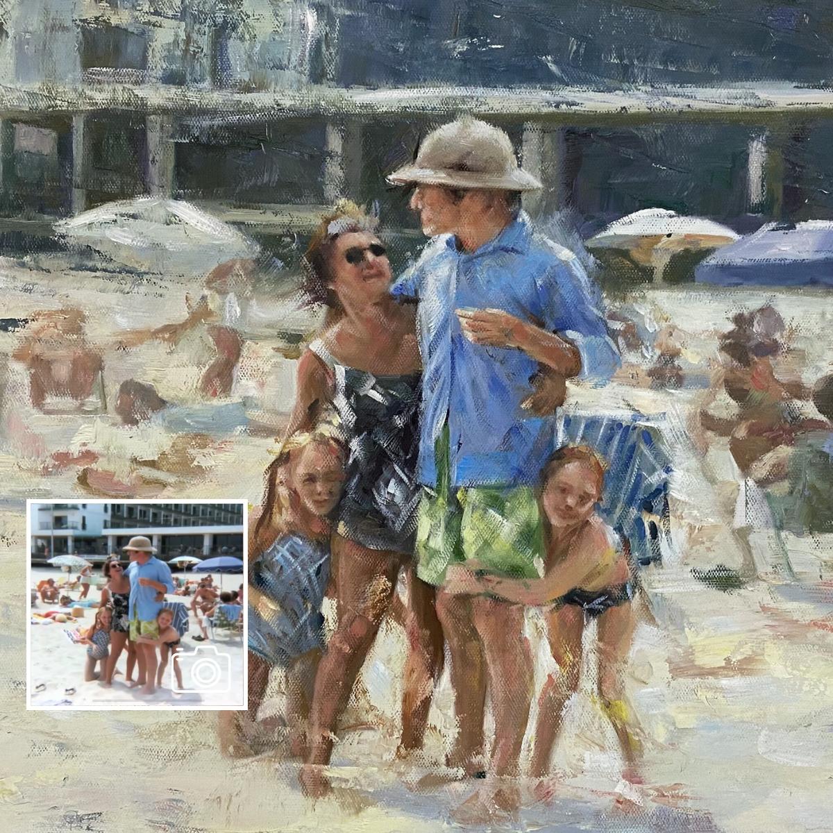 Family-Oil-Vacation-Portrait