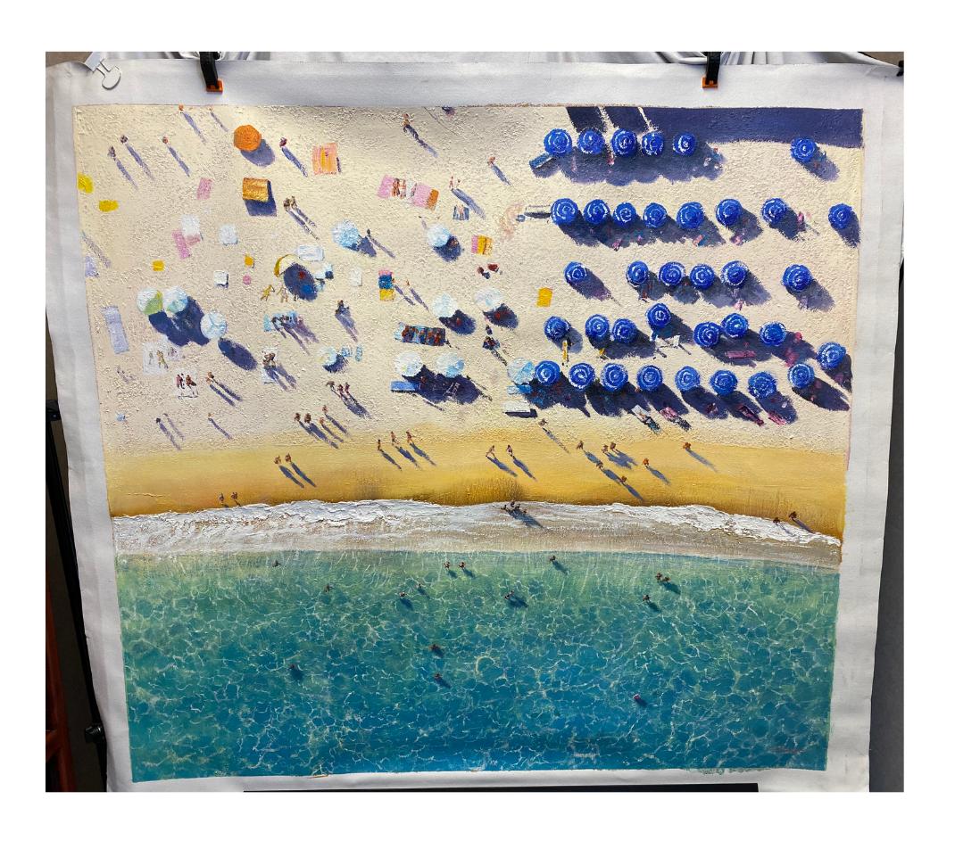 tommy-clarke-paintru-blue-umbrellas-photographer-painting