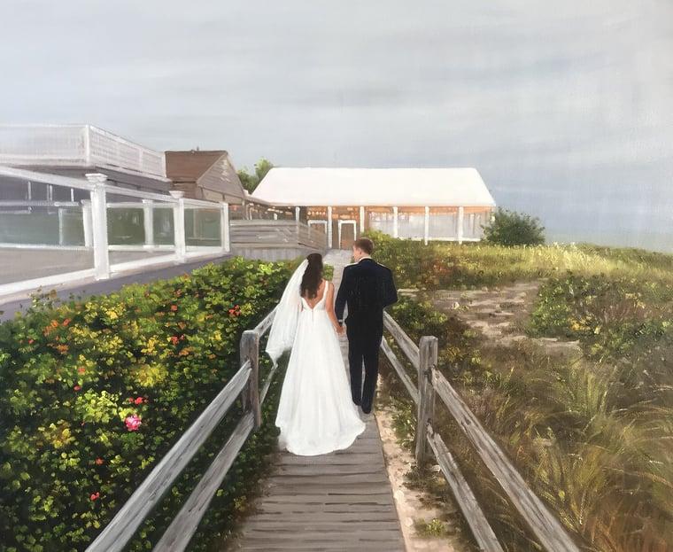 1356-paintru-wedding-painting-landscape-on-beach-boardwalk