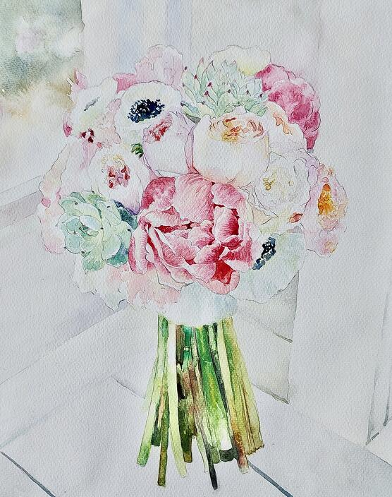 arielle-hand-painted-watercolor-wedding-bouquet