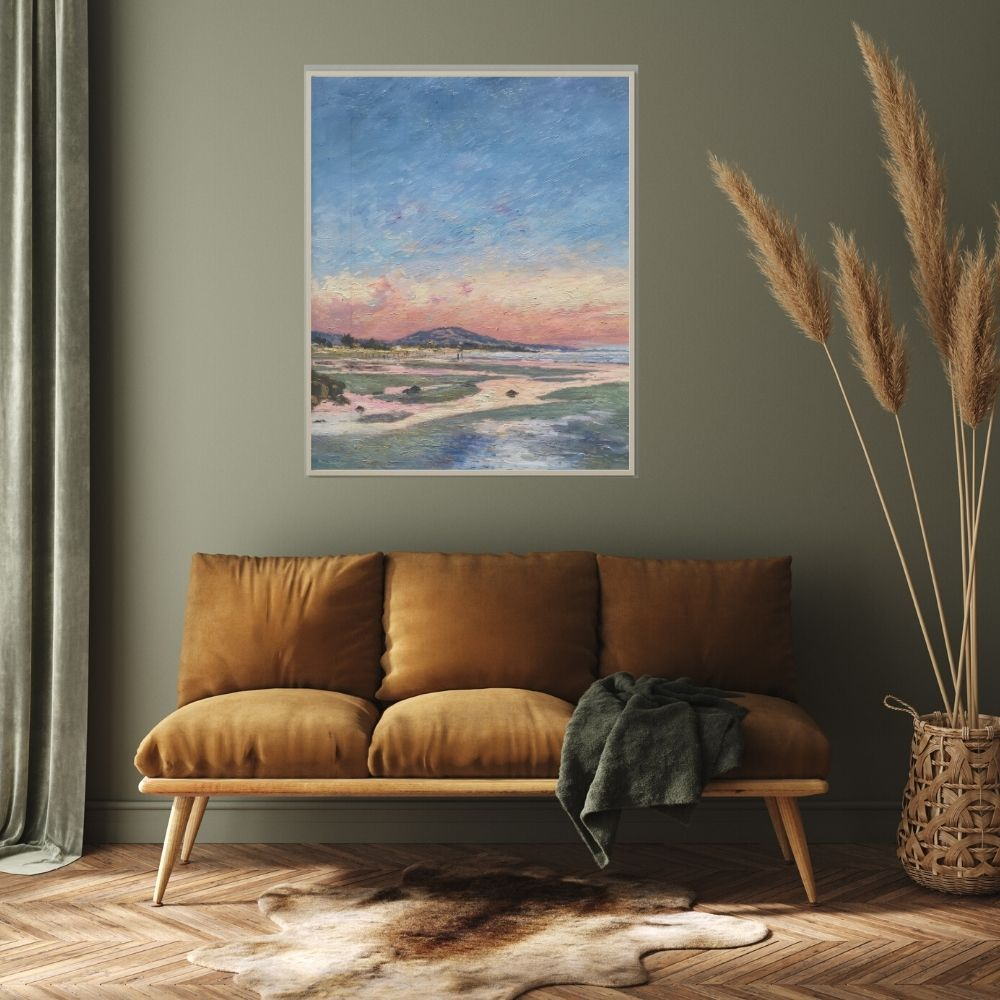 carpinteria-beach-impressionist-oil-framed-hung