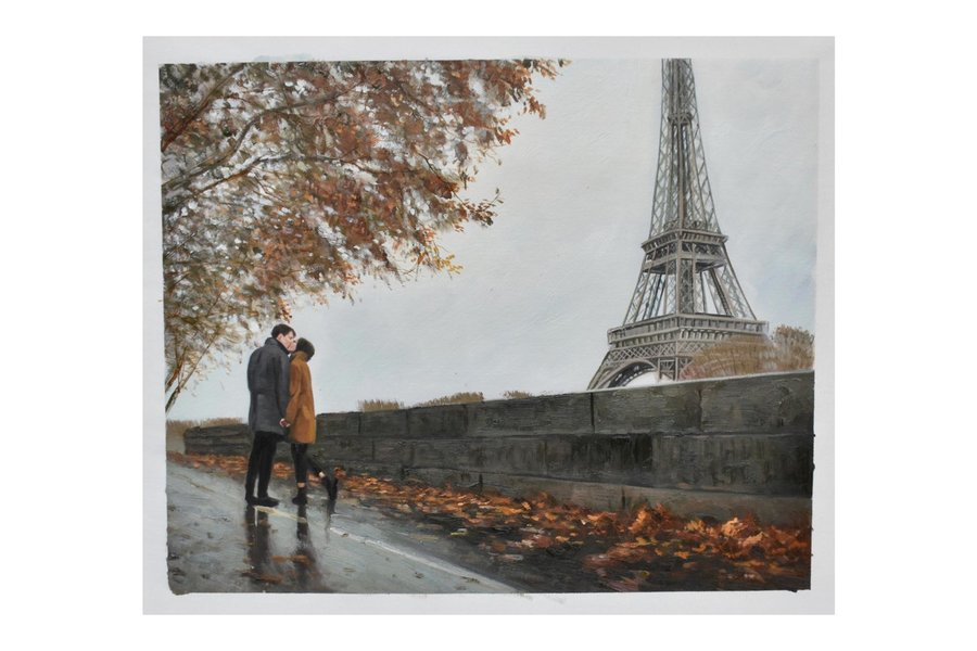 Couples portraits based on your favorite travel memories!